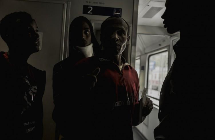 Austria, il viaggio dei profughi sul treno per Monaco