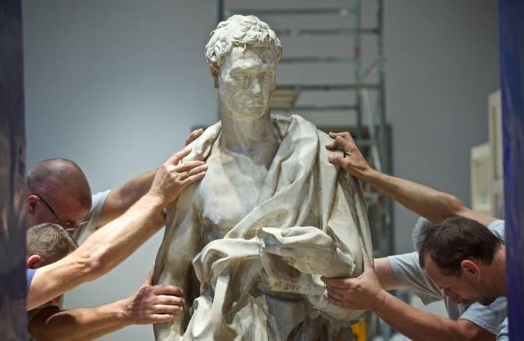 Donatello, Geremia, allestimento del nuovo Museo dell'Opera del Duomo Firenze, Foto Opera del Duomo / Claudio Giovannini