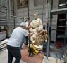 Nanni di Banco, San Luca, allestimento del nuovo Museo dell'Opera del Duomo Firenze, Foto Opera del Duomo / Claudio Giovannini