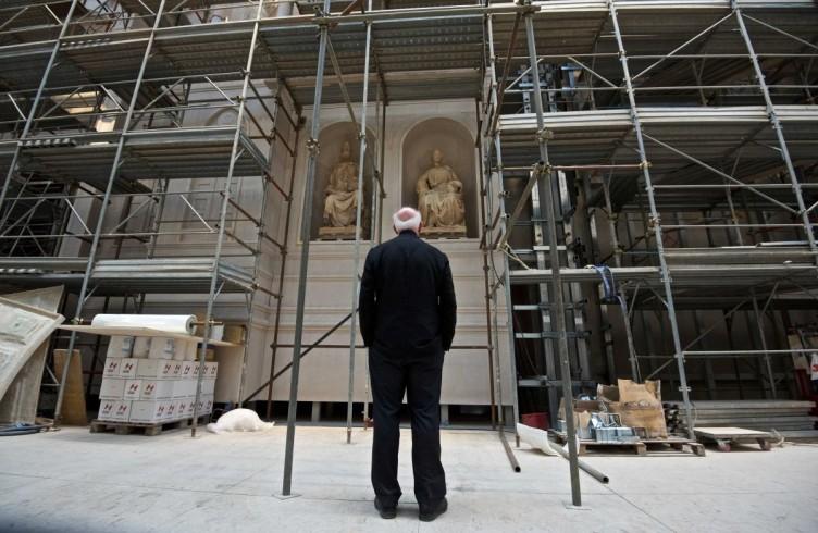 Il direttore del nuovo Museo dell'Opera del Duomo, Timothy Verdon, foto Opera del Duomo / Claudio Giovannini