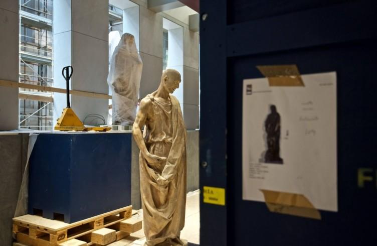 Donatello, Abacuc, allestimento del nuovo Museo dell'Opera Firenze, foto Opera del Duomo / Claudio Giovannini