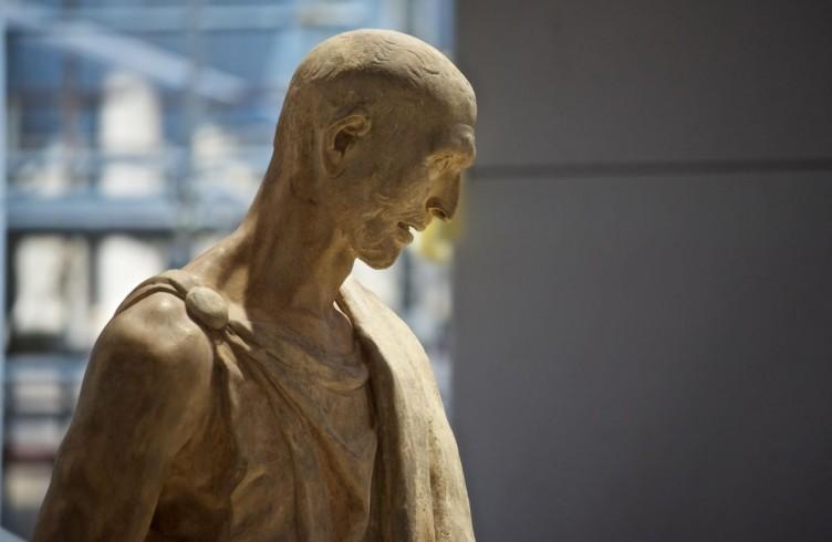Donatello. Abacuc, allestimento del nuovo Museo dell'Opera del Duomo, Firenze, Foto Opera del Duomo 7 Claudio Giovannini