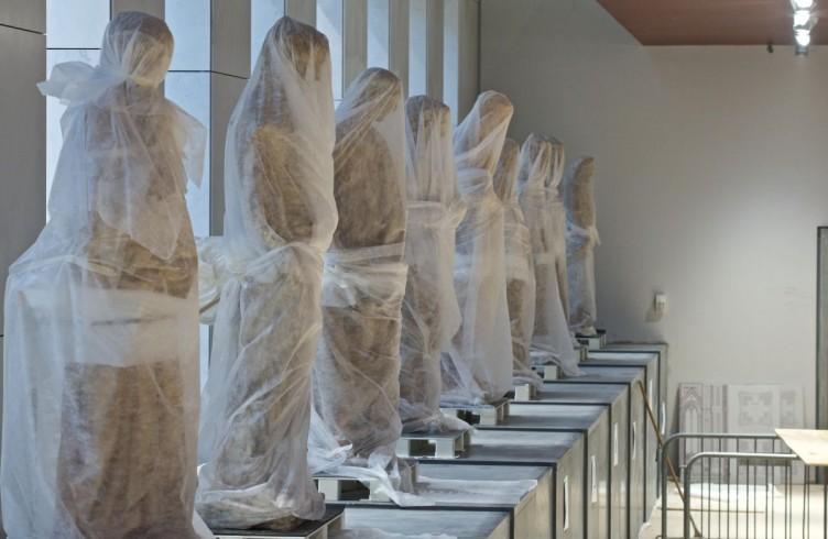 Statue del Campanile di Giotto, allestimento del nuovo Museo dell'Opera del Duomo Firenze, Foto Opera del Duomo / Claudio Giovannini