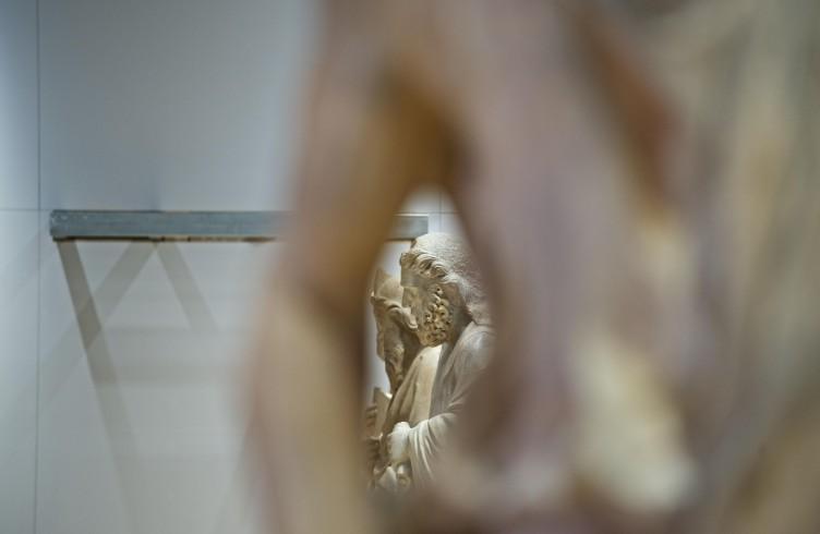 Statua del Campanile di Giotto, allestimento del nuovo Museo dell'Opera Firenze, Foto Opera del Duomo / Claudio Giovannini