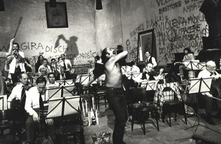 prova d'orchestra -di Federico Fellini